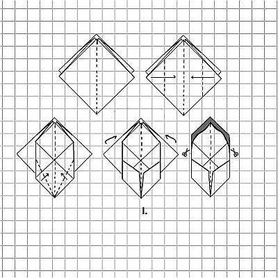 papierblumen basteln tulpe aus papier. Black Bedroom Furniture Sets. Home Design Ideas