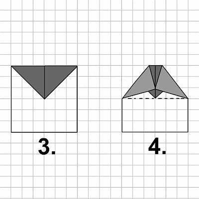 Papierflieger Aus Papier Falten